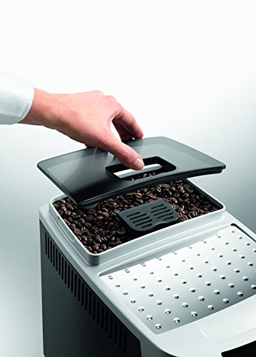 DeLonghi ECAM 22.110.B Kaffee-Vollautomat (1450 Watt, 1,8 Liter, 15 bar, Dampfdüse) schwarz -