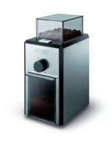 DeLonghi KG 89 Professionelle Kaffeemühle (Kunststoffgehäuse, bis zu 12 Tassen) silber -