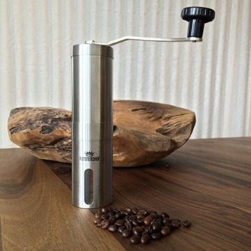 Moulin à Café Manuel Avec Mécanisme De Broyage En Céramique | Design De Rummershof -